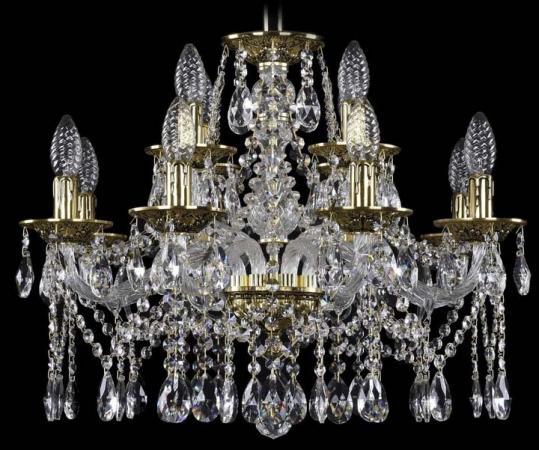 Подвесная люстра Bohemia Ivele 1613/8+4/200/GB bohemia ivele crystal люстра bohemia ivele crystal 1613 8 4 200 gb