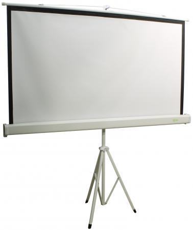 Экран напольный Cactus Triscreen CS-PST-150X150 150x150см 1:1 белый экран напольный cactus triscreen cs pst 180x180 180x180см 1 1 белый