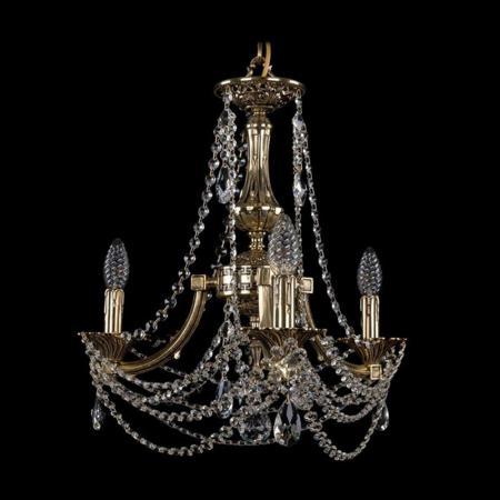 Подвесная люстра Bohemia Ivele 1771/3/150/C/GB подвесная люстра bohemia 1710 1710 3 160 c gb