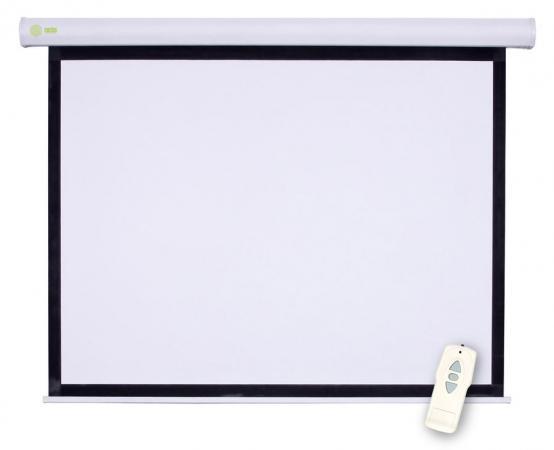 Экран настенный Cactus Motoscreen CS-PSM-183X244 183x244см 4:3 белый da lite fast fold deluxe 3 4 305 120 183x244 3d virtual