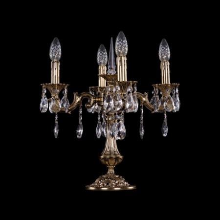 Настольная лампа Bohemia Ivele 7001/4/125-51/A/GB бактерицидная лампа дрт 125 1 магазины