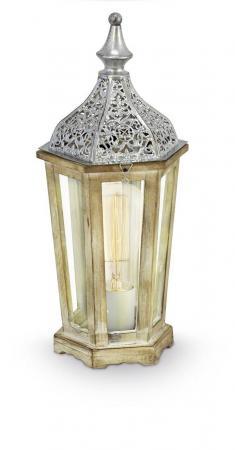 Настольная лампа Eglo Vintage 49277 eglo настольная лампа eglo vintage 49277