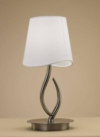 Настольная лампа Mantra Ninette Antique Bras 1925 настольная лампа mantra ninette antique bras арт 1937