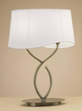 Настольная лампа Mantra Ninette Antique Bras 1926 настольная лампа mantra ninette antique bras арт 1937