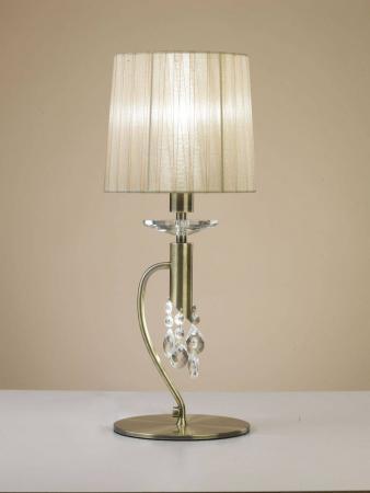 все цены на Настольная лампа Mantra Tiffany Bronze 3888