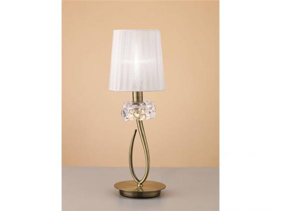 Настольная лампа Mantra Loewe 4737 настольная лампа mantra loewe 4636