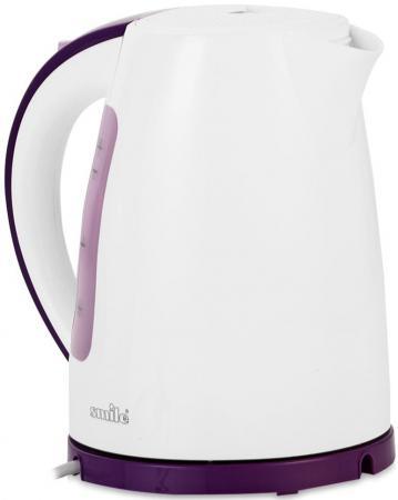 Чайник Smile WK 5307 2200 Вт 1.7 л пластик белый чайник smile wk 5308 2000 вт 1 7 л пластик белый