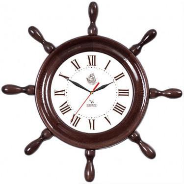 Часы настенные Вега Д 7 МД 6 коричневый купить часы мальчику 7 лет