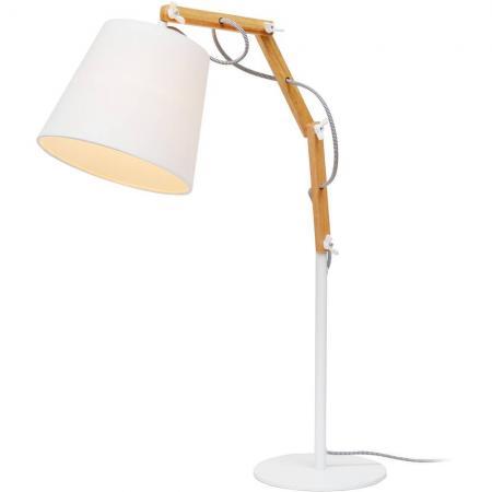 Настольная лампа Arte Lamp Pinoccio A5700LT-1WH a5700lt 1bk pinoccio настольная лампа