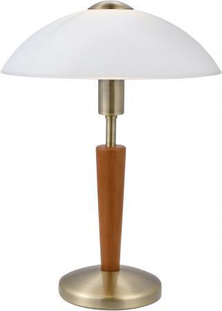 Настольная лампа Eglo Solo 1 87256 eglo лампа настольная eglo solo 87254