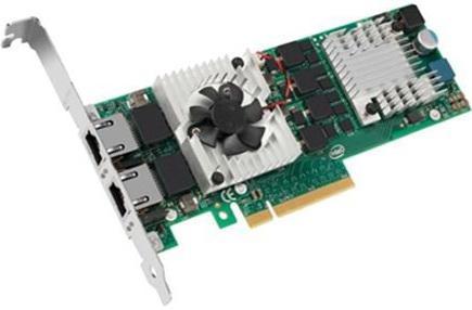 Сетевой адаптер Dell X540 PCI-E 10/100/1000/10000Mbps 540-BBDU сетевой адаптер dell x520 da sfp pci e 10 100 1000mbps 540 bbdr