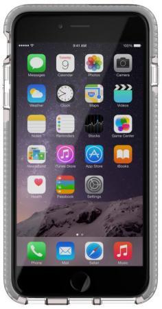 Чехол Tech21 Evo Mesh T21-5095 для iPhone 6S Plus iPhone 6 Plus прозрачный серый чехол для iphone tech21 t21 5094 clear grey