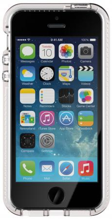 Чехол Tech21 Evo Mesh для iPhone 5 iPhone 5S iPhone SE прозрачный белый прозрачный чехол на iphone 5