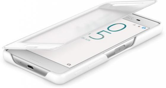 все цены на Чехол SONY SCR50 для Xperia X белый онлайн