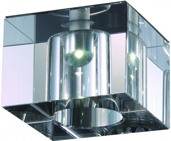 Встраиваемый светильник Novotech Cubic-LED 357013 точечный светильник novotech 357013