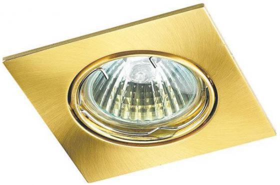 цена на Встраиваемый светильник Novotech Quadro 369107