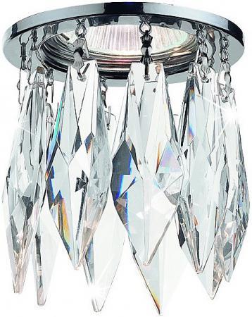 Встраиваемый светильник Novotech Crystals 369259 встраиваемый светильник novotech crystals 369299