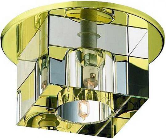 Встраиваемый светильник Novotech Crystals 369261 встраиваемый светильник novotech crystals 369299