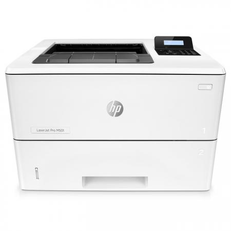 Принтер HP LaserJet Pro M501n J8H60A ч/б A4 48ppm 600x600dpi 256Mb Ethernet USB принтер hp laserjet pro m501n j8h60a ч б а4 43ppm lan