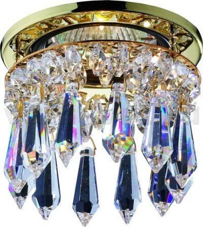 Встраиваемый светильник Novotech Drop 369331 встраиваемый светильник novotech crystals 369331