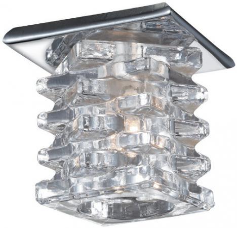 Встраиваемый светильник Novotech Crystal 369375 novotech crystal 369424