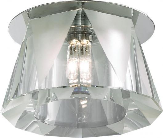 Встраиваемый светильник Novotech Vetro 369519 falmec atlas vetro parete 90 ix 800