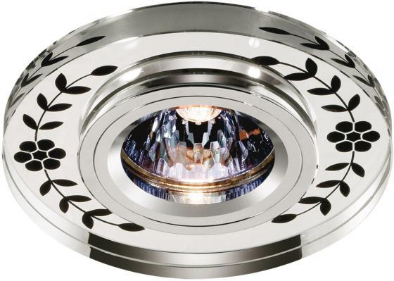 Встраиваемый светильник Novotech Mirror 369541 novotech 369541 nt11 235 хром зеркальный встраиваемый нп светильник ip20 gu5 3 50w 12v mirror