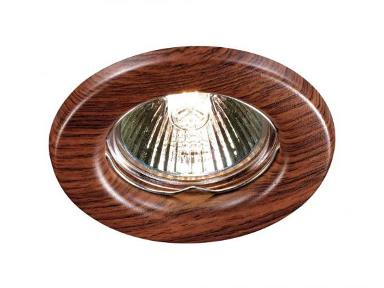 Купить Встраиваемый светильник Novotech Wood 369714