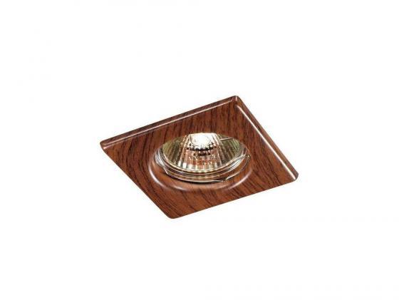 Купить Встраиваемый светильник Novotech Wood 369717
