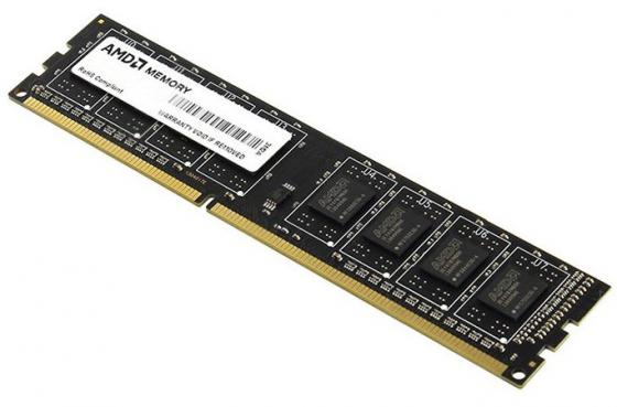 Оперативная память 8Gb (1x8Gb) PC4-17000 2133MHz DDR4 DIMM CL15 AMD R748G2133U2S-UO цена