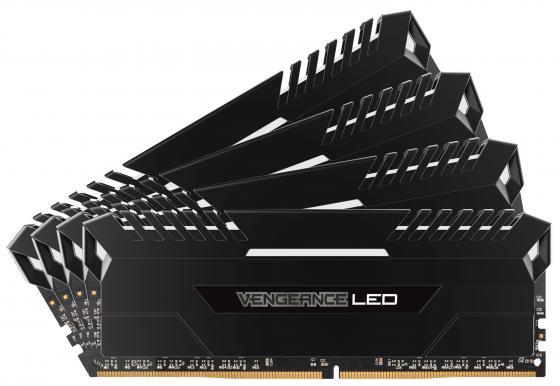 Оперативная память 64Gb (4x16Gb) PC4-21300 2666MHz DDR4 DIMM Corsair CMU64GX4M4A2666C16 память ddr4 2x8gb 2666mhz corsair cmu16gx4m2a2666c16r rtl pc4 21300