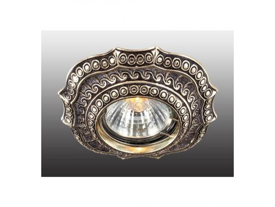 Встраиваемый светильник Novotech Vintage 369857 novotech встраиваемый светильник novotech vintage 369857