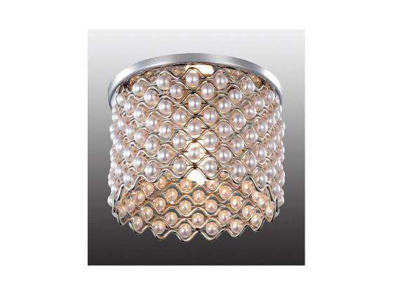 Встраиваемый светильник Novotech Pearl 369888 встраиваемый светильник pearl round novotech 1298428