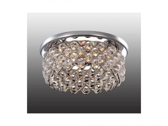 Встраиваемый светильник Novotech Pearl 369895 встраиваемый светильник novotech pearl round 369441
