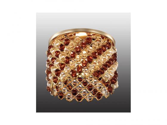 Встраиваемый светильник Novotech Pearl 369896 встраиваемый светильник novotech pearl round 369441