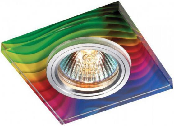 Встраиваемый светильник Novotech Rainbow 369916 декоративный светильник novotech встраиваемый 369517