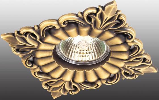 цена Встраиваемый светильник Novotech Flower 369835