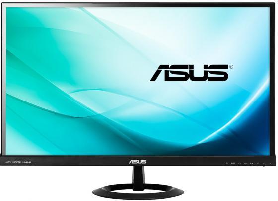 Монитор 27 ASUS VX279H черный AH-IPS 1920x1080 250 cd/m^2 5 ms HDMI VGA Аудио 90LM00G3-B01470 монитор 25 asus mx259h черный ah ips 1920x1080 250 cd m^2 5 ms dvi hdmi аудио 90lm0190 b01670