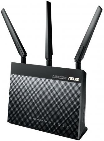 Беспроводной маршрутизатор ADSL ASUS DSL-AC68U маршрутизатор asus rp ac68u