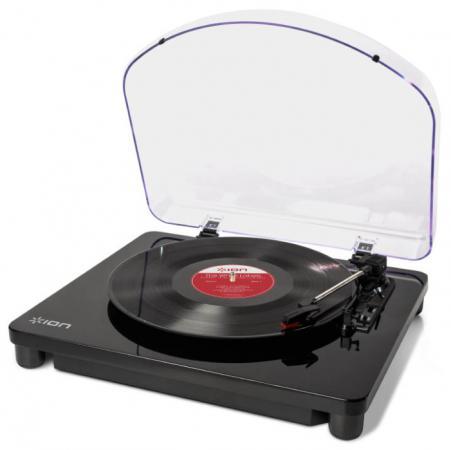 Виниловый проигрыватель ION Classic LP черный ion audio mustang lp