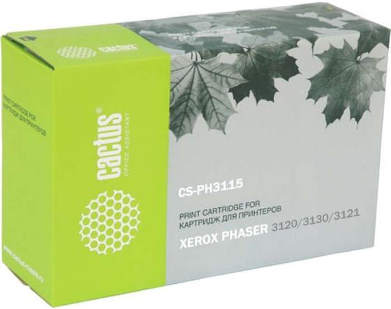 Картридж Cactus CS-PH3115 109R00725 для Xerox Ph3115/3120/3121/3130/3131/3132 черный 3000стр картридж xerox 109r00725
