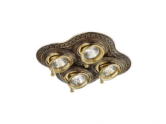 Встраиваемый светильник Novotech Vintage 060 370180 f gattien 6236 201