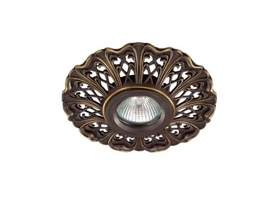 Встраиваемый светильник Novotech Vintage 124 370031 встраиваемый светильник novotech vintage 124 370031