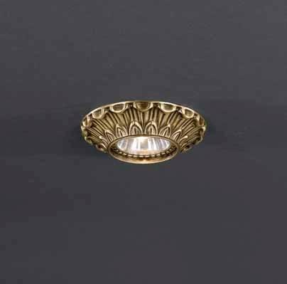 Встраиваемый светильник Reccagni Angelo SPOT 1077 oro встраиваемый светильник reccagni angelo spot 1083 oro