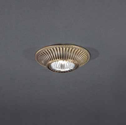 Встраиваемый светильник Reccagni Angelo SPOT 1078 oro точечный светильник reccagni angelo spot 1078 oro