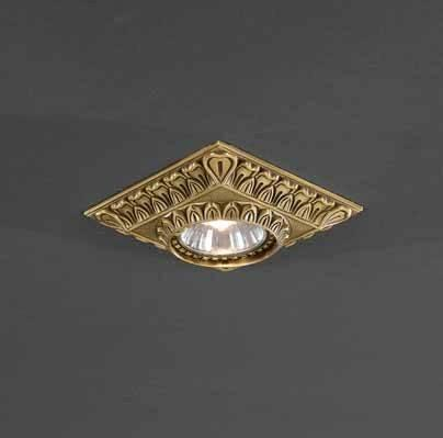Встраиваемый светильник Reccagni Angelo SPOT 1083 bronzo встраиваемый светильник reccagni angelo spot 1083 oro