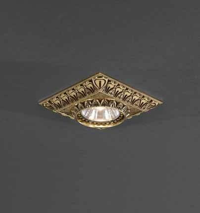 Встраиваемый светильник Reccagni Angelo SPOT 1083 oro встраиваемый светильник reccagni angelo spot 1083 oro