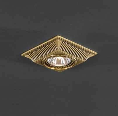 Встраиваемый светильник Reccagni Angelo SPOT 1084 oro встраиваемый светильник reccagni angelo spot 1083 oro