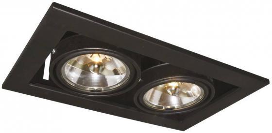 Встраиваемый светильник Arte Lamp Technika A5930PL-2BK светильник встраиваемый artelamp technika a5930pl 2bk
