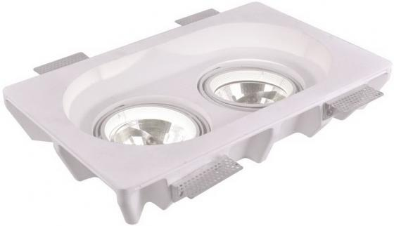 Встраиваемый светильник Arte Lamp Invisible A9270PL-2WH встраиваемый светильник arte lamp invisible a9410pl 1wh